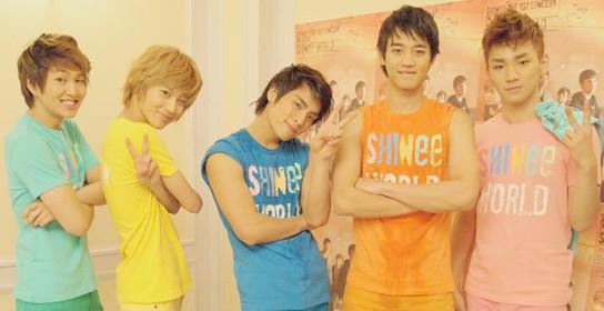 SHINee(シャイニー)のグループカラー、メンバーカラーは決まっている?