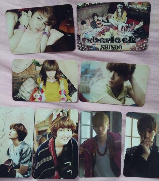 SHINee(シャイニー)のトレカ種類(トレーディングカード)、欲しければCDの初回限定盤で!! (2)