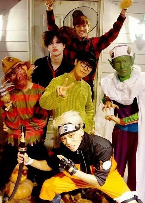 SHINeeメンバー、「恒例!SM仮装かぼちゃ(ハロウィン)パーティー」に出演!・・「これ誰?」 (2)